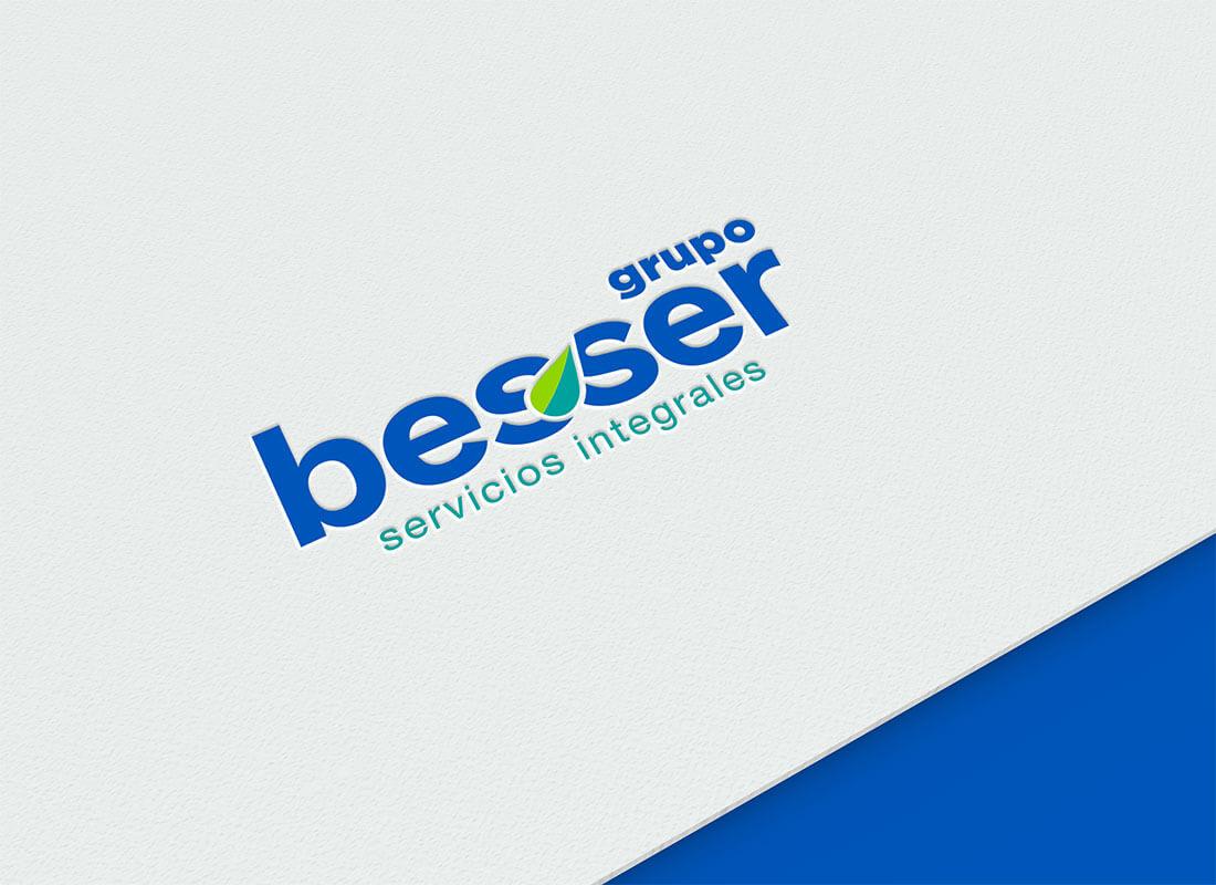 Diseño de Logotipo Besser Empresa de Servicios de Limpieza