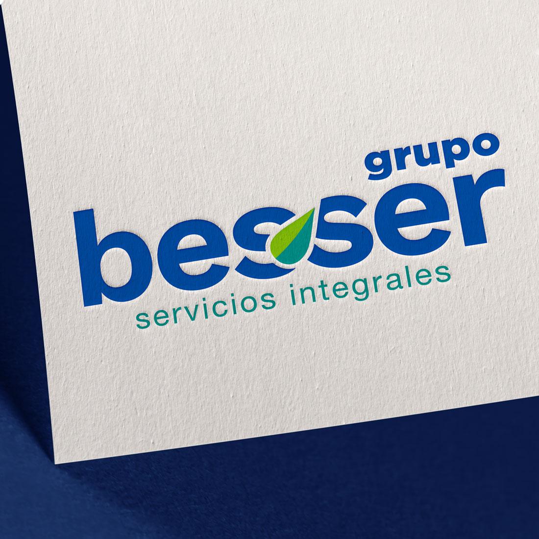 Diseño de Logotipo Servicios de Limpieza Besser - Lilian Feres