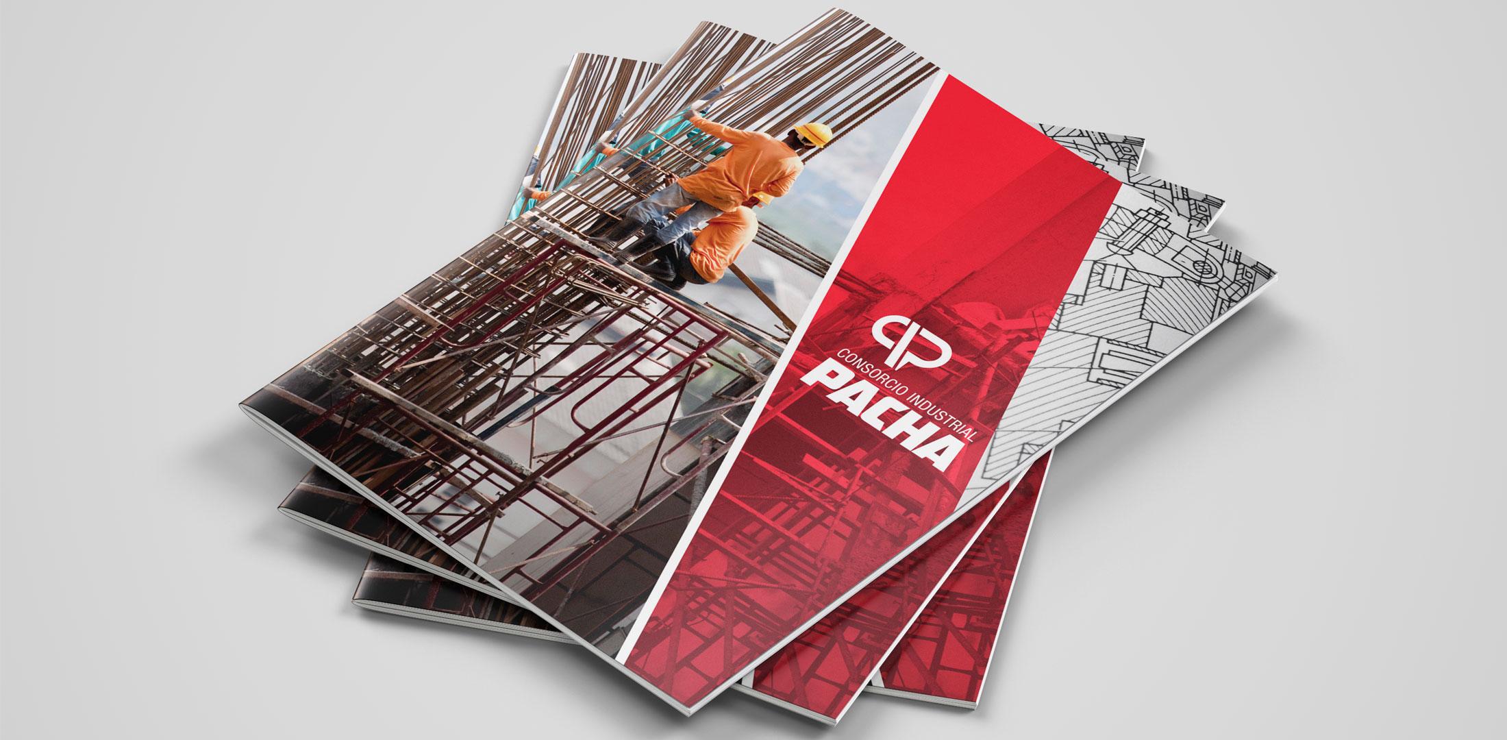 Diseño de currículum Constructora Pacha