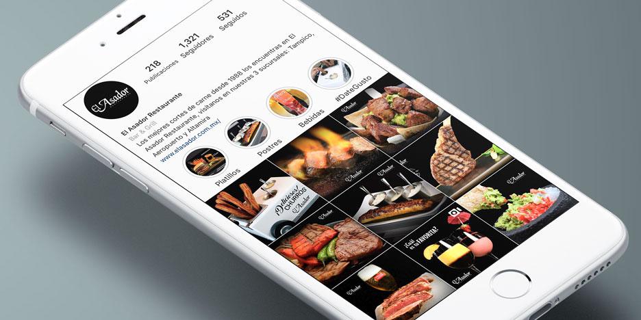 Manejo de Redes Sociales El Asador Restaurante Tampico