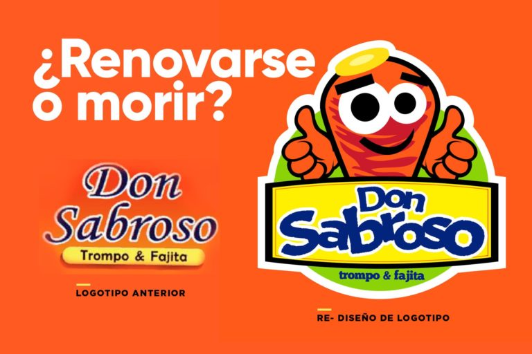 Renovarse o morir re-diseno de logotipo blog