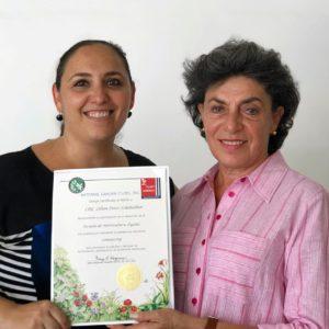 Reconocimiento a Lilián Féres