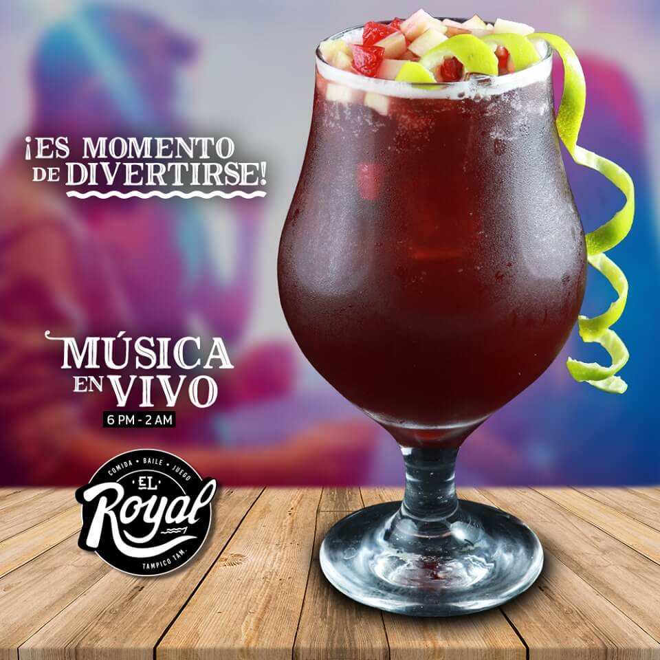 Diseño de Flyer para Facebook de Restaurante el Royal