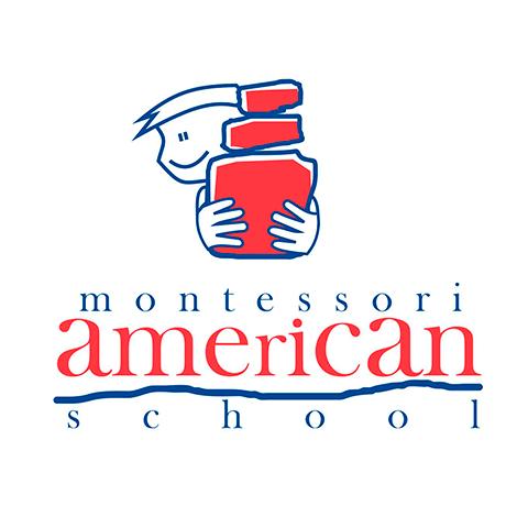 Diseño de Logotipo Colegio Montessori American School Tampico