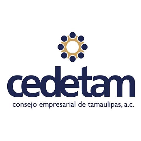 Diseño de Logotipo para Cedetam Consejo Empresarial de Tamaulipas