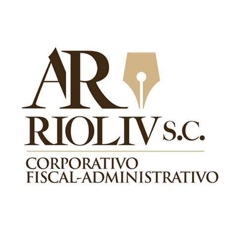 Diseño de Logotipo Firma de Abogados AR RIOLIV S.C. Tampico