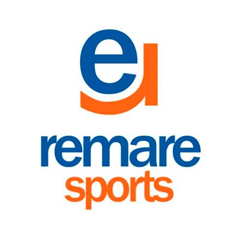 Diseño de Logotipo Gimnasio de Remo Remare Sports - Lilián Féres Agencia Creativa