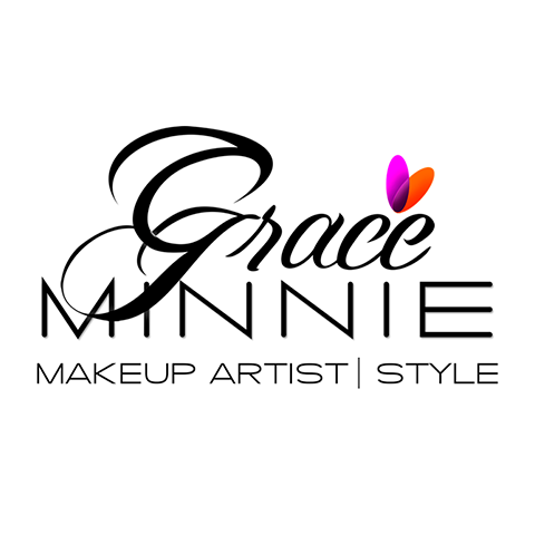 Diseño de Logotipo Salón de Belleza, MakeUp Artist & Style Grace Minnie- Lilián Féres Agencia Creativa