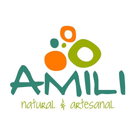 Diseño de Logotipo Marca Productos Crema, Exfoliantes, Jabones Artesanales Amili