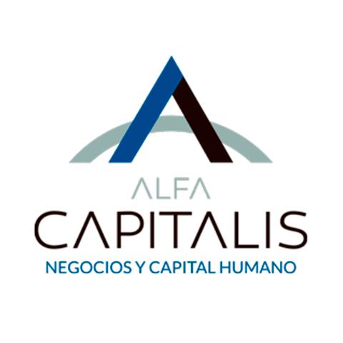 Diseño de Logotipo Negocios Capital Humano Alfa Capitalis Tampico