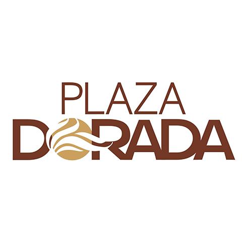 Diseño de logotipo Plaza Dorada Tampico
