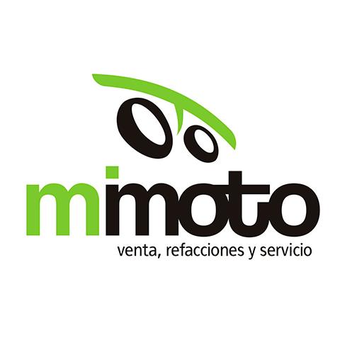 Diseño de Logotipo Refaccionaria Venta Motos Mi Moto
