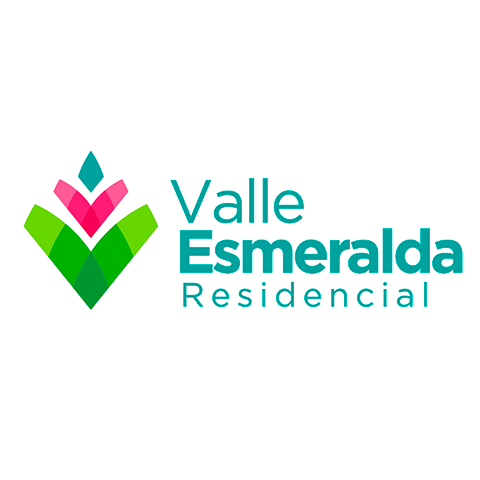 Diseño de Logotipo Residencial Valle Esmeralda Construcciones Aryve Tampico