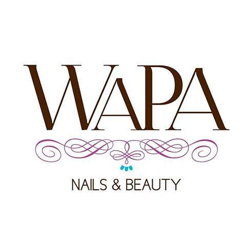 Diseño de Logotipo Salón de Belleza Wapa Nails and Beauty Tampico