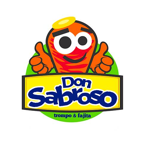 Diseño de Logotipo Servicio de Tacos de Trompo Don Sabroso Tampico
