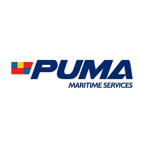 Diseño de Logotipo Empresa Servicios Maritimos Puma Marine Services