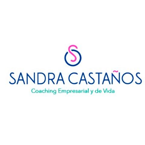 Diseño de Logotipo Coach Sandra Castaños Coaching de Vida y Empresarial