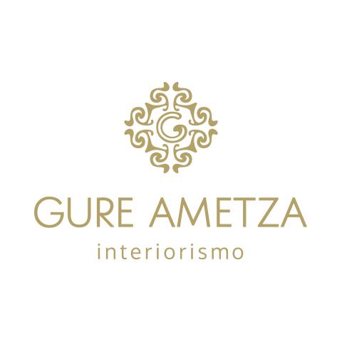 Diseño de Logotipo Decoración, Interiorismo, Muebles Gure Ametza - Lilián Féres Agencia Creativa
