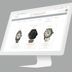 Diseño de Logotipo y Manual y Diseño Web Horology