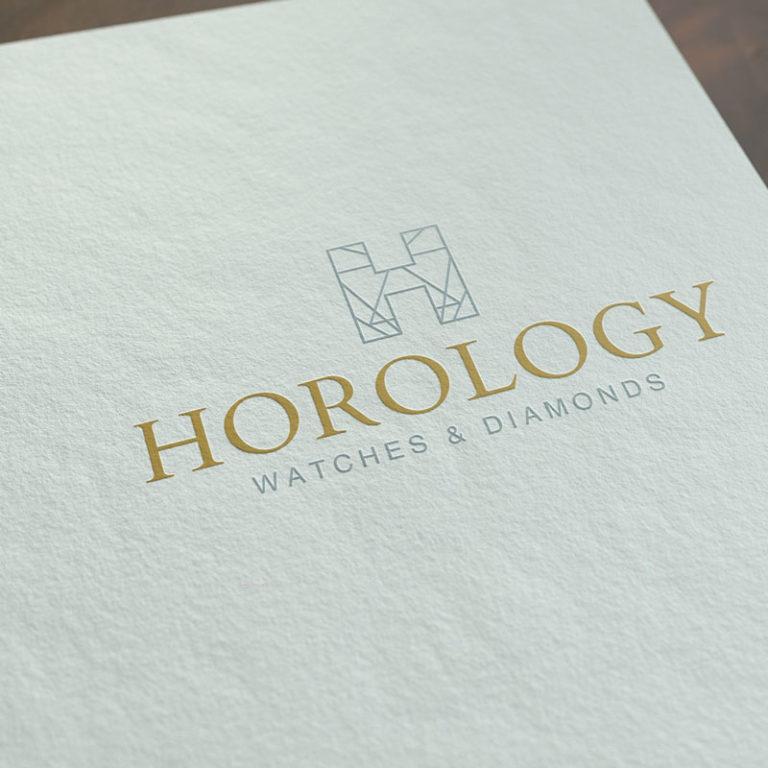Diseño de Logotipo Joyería Horology Watches and Diamonds Mcallen Texas