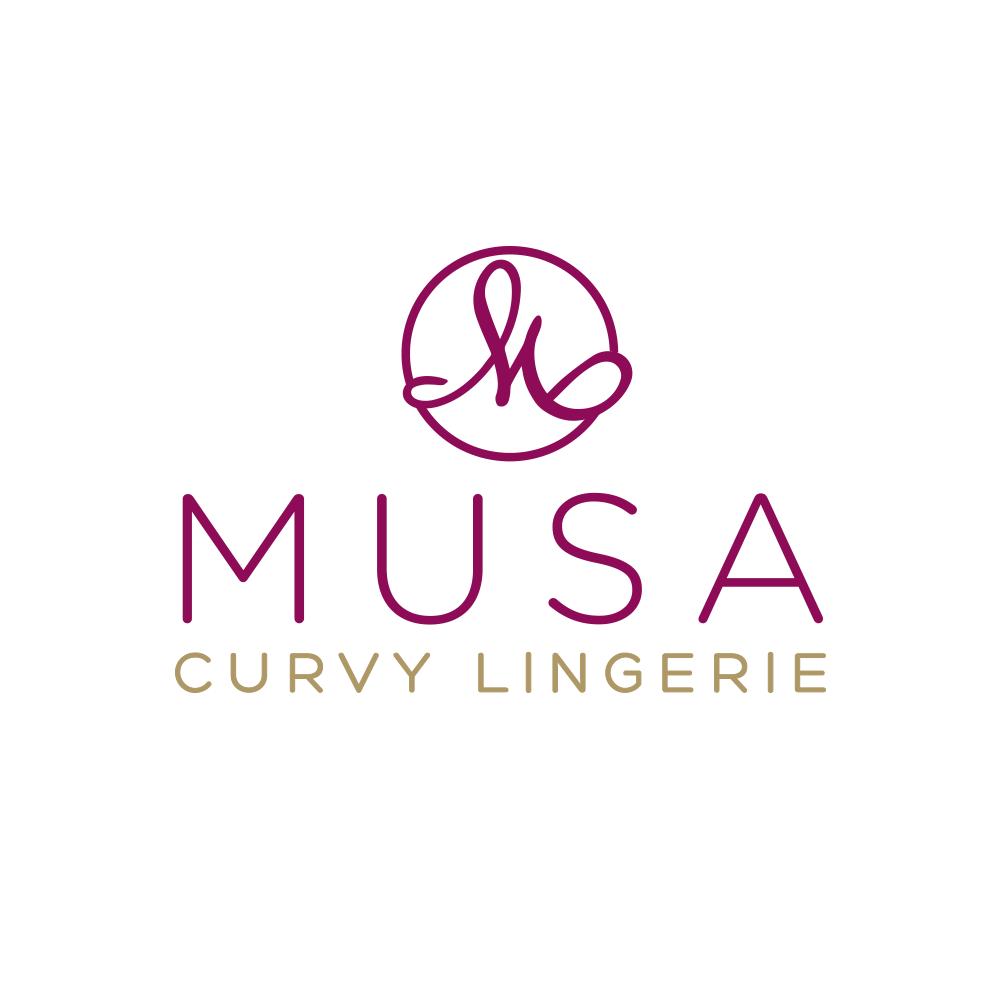 Re-Diseño de Logotipo Musa Curvy Lingerie