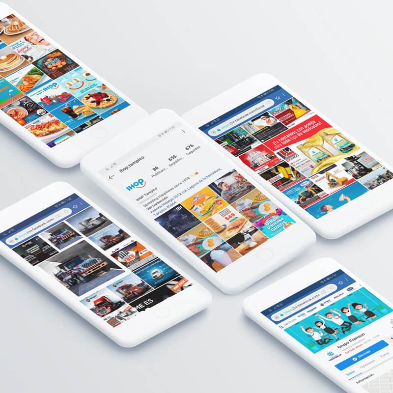 Diseño de publicidad - Redes sociales Grupo Fransun - Lilian Feres