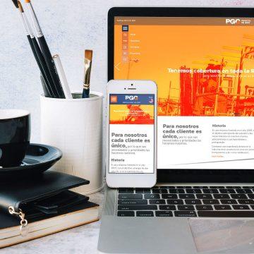 Re-diseño de logotipo, papelería y diseño de sitio web para Proyectos del Golfo