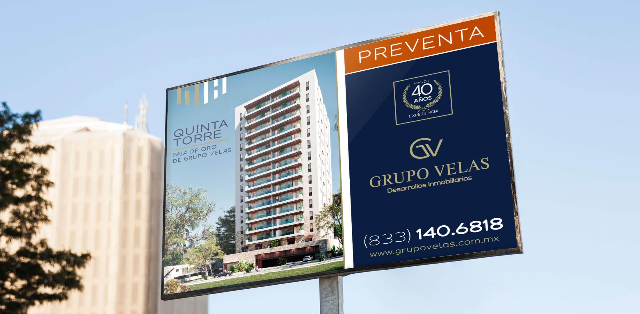 Diseño de Panorámico Departamentos Torre 825 Grupo Velas Tampico