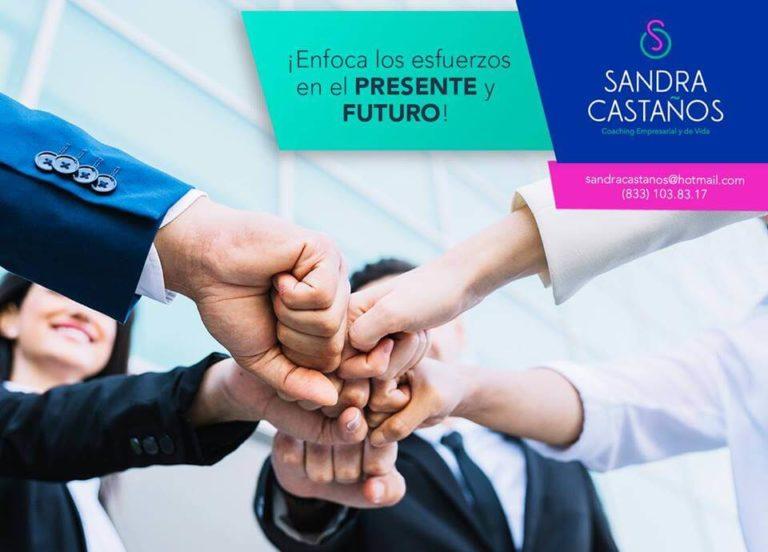 Manejo de Redes Sociales Tampico para Sandra Castaños coach empresarial y de vida - Lilian Feres