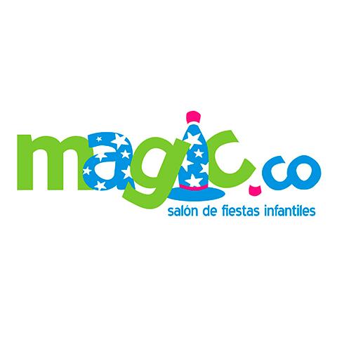 Diseño de Logotipo para Salón de Fiestas Infantiles Magico Tampico