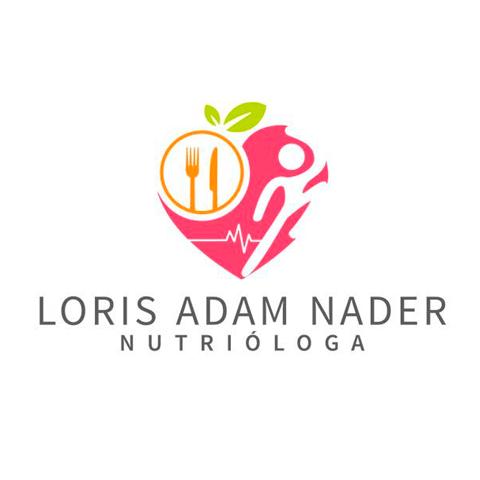 Diseño de Logotipo Nutrióloga Loris Adam Nader Tampico