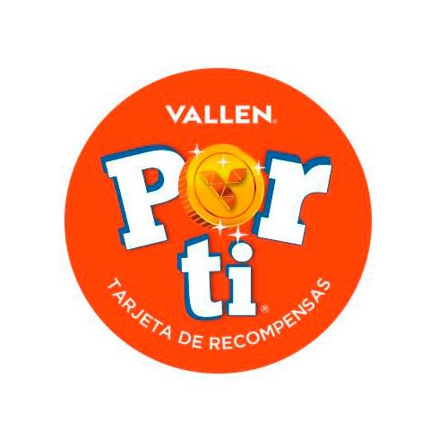 Naming y Diseño de Logotipo Tarjeta de Recompensas Vallen Por Ti