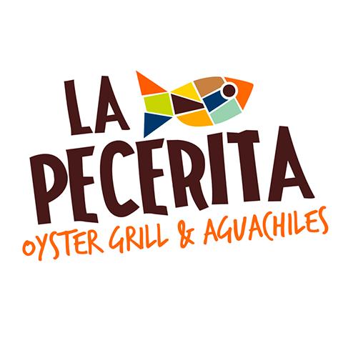 Diseño de Logotipo Restaurante Mariscos La Pecerita