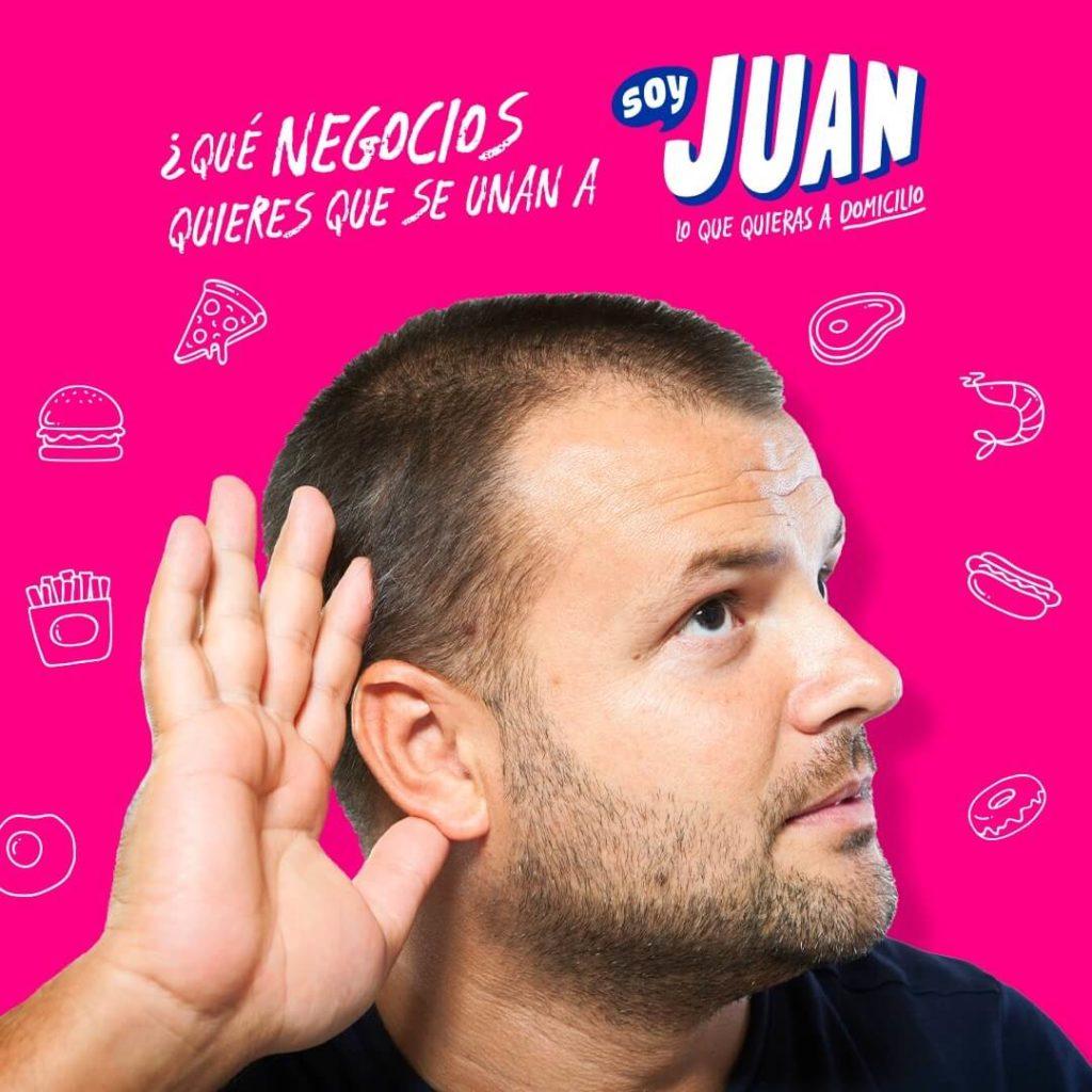 Manejo de Redes Sociales y Diseño de publicidad para redes sociales app soy Juan - Agencia Creativa Lilian Feres