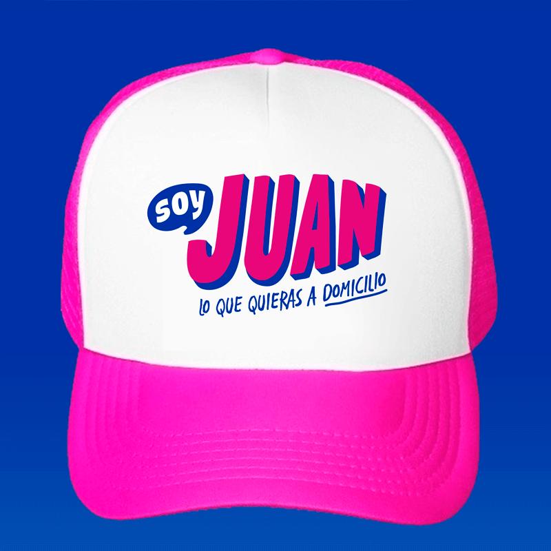 Re- Diseño de logotipo App soy Juan - Lilián Féres Agencia Creativa