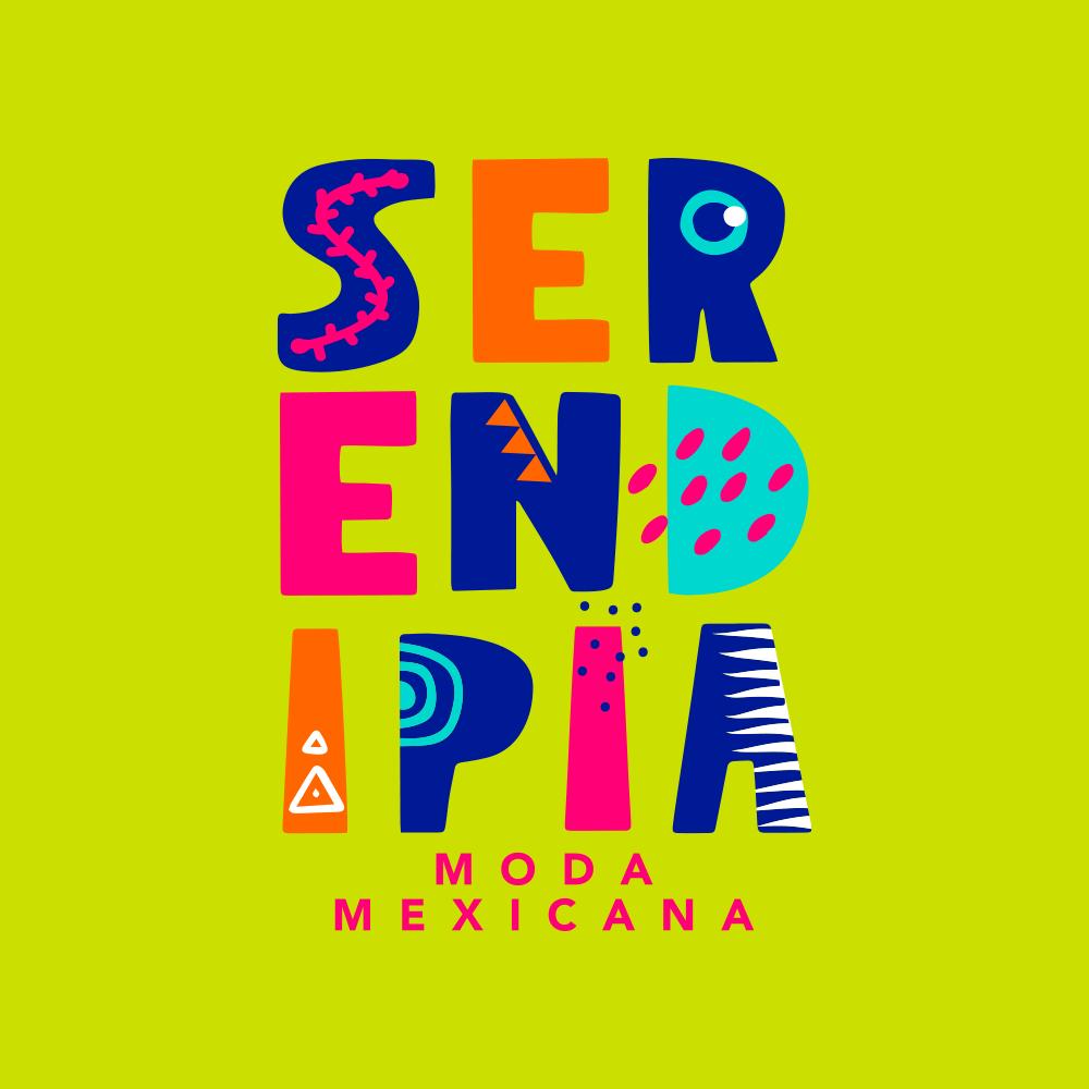 Diseño de Logotipo Moda Mexicana Serendipia Identidad Corporativa - Lilián Féres Agencia Creativa