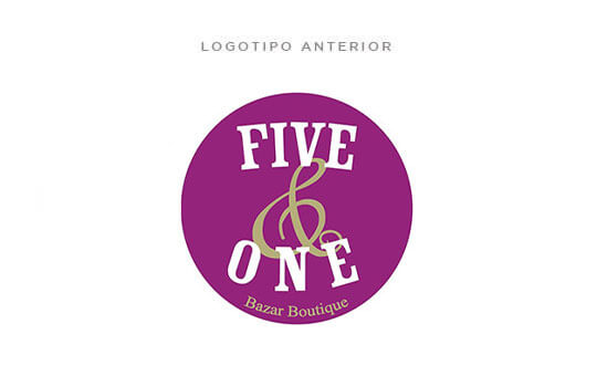 Logotipo Five & One anterior