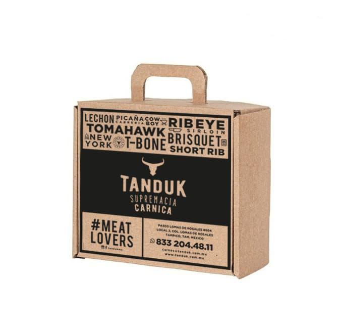 Diseño de Packaging, Diseño de Empaque Boutique de Cortes de Carne Tampico Mexico, Tanduk - Lilian Feres Agencia Creativa