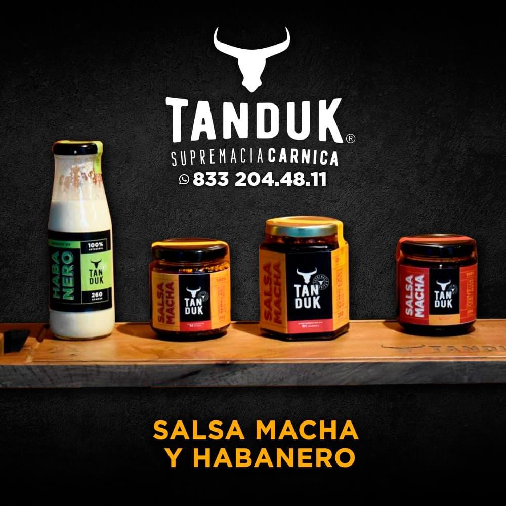 Diseño de Etiquetas para Salsas Mexico, Tampico, Tamaulipas, Diseño de Logotipo Tanduk