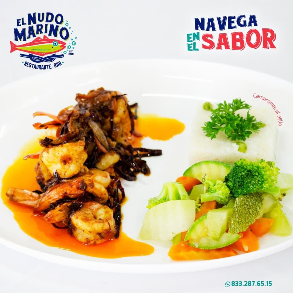 Manejo de Redes Sociales Restaurante Bar Tampico Altamira Cd Madero Tamaulipas, El Nudo Marino, Lilian Feres Agencia Creativa