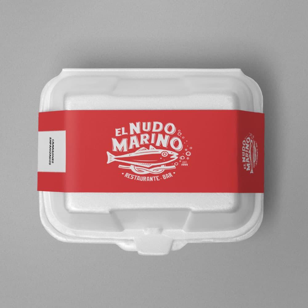 Diseño de Etiqueta, Empaque, Diseño de Logotipo Manual de Identidad Corporativa Restaurante Bar Altamira Tamaulipas El Nudo Marino, Lilian Feres Agencia Creativa