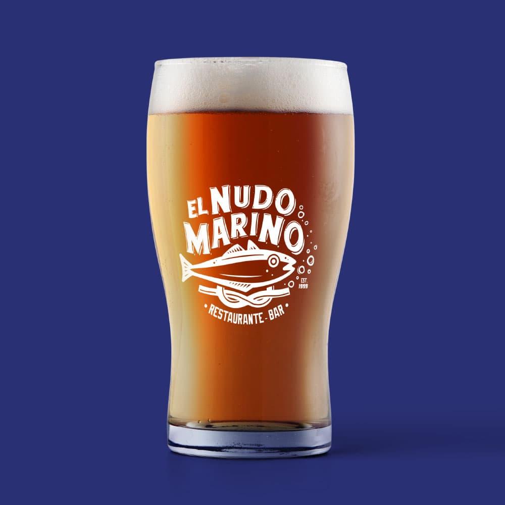 Diseño de Logotipo Manual de Identidad Corporativa Restaurante Bar Altamira Tamaulipas El Nudo Marino, Lilian Feres Agencia Creativa