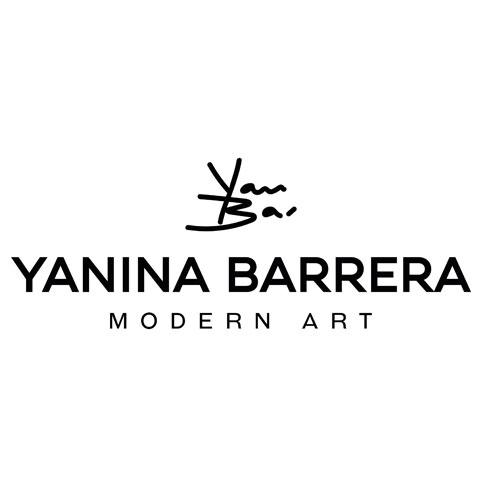 Diseño Logotipo Firma Artista, Arte, Pintura, Marca Personal, Yanina Barrera, Tampico, San Pedro Garza García, Lilian Feres Agencia Creativa