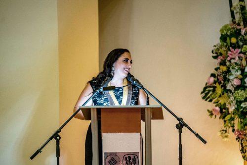 Entrega Reconocimiento y Medalla Liderazgo IEST-ANAHUAC a Lilián Féres 2019