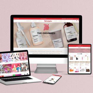 Creacion, Desarrollo y Diseño de Tienda online de Make Up, Maquillaje en Mexico, Lilian Feres Agencia Creativa
