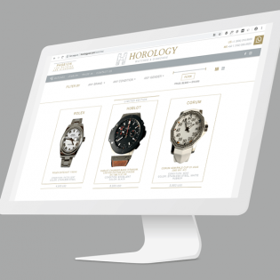 Diseño Web Auto-Administrable Horology Watches and Diamonds