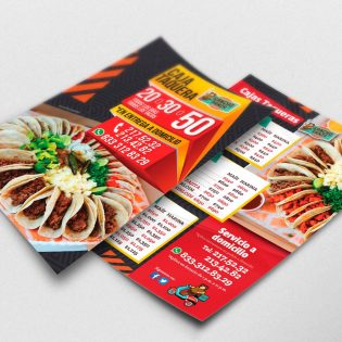 Diseño de Publicidad Restaurante Tampico Sancho Panza - Lilian Feres