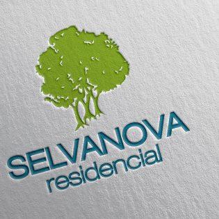 Diseño de logotipo para residencial Selvanova en Playa del Carmen, Quintana Roo